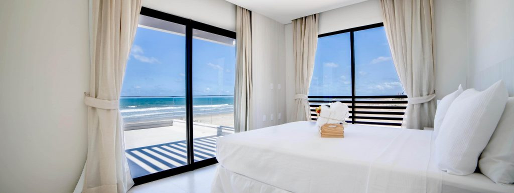 bedroom at holiday let in Ceará