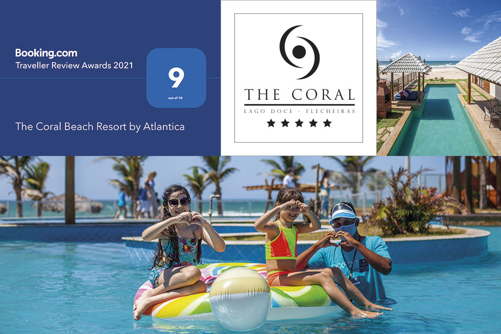 The Coral and booking.com Travellers Review Award
